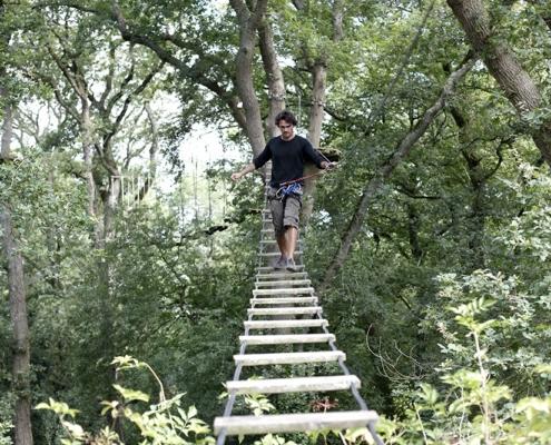 Camping les Quatre Vents - Pays de Retz - Loire-Atlantique - nautisme - accrobranche - forêt - defi nature - frossay - randonnées - activités - enfants - famille - loisirs
