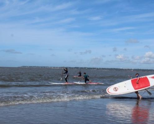 Camping les Quatre Vents - Pays de Retz - Loire-Atlantique - saint-brevin - activites - loisirs - nautisme - surf - paddle