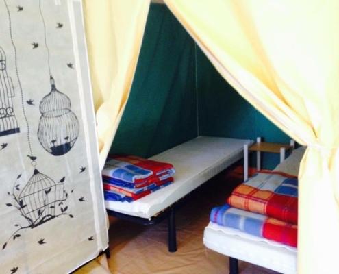Camping les Quatre Vents - Pays de Retz - Loire-Atlantique - nature - Location Bengali -- calme - plage - saint-brevin - pornic - bord de mer